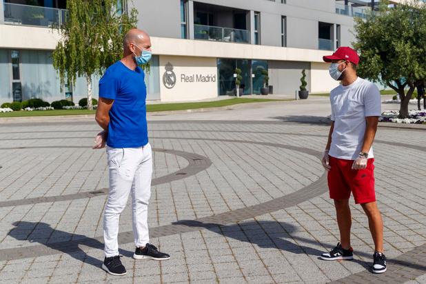 """Zidane: """"Le Real est prêt à se battre pour remporter le titre"""""""