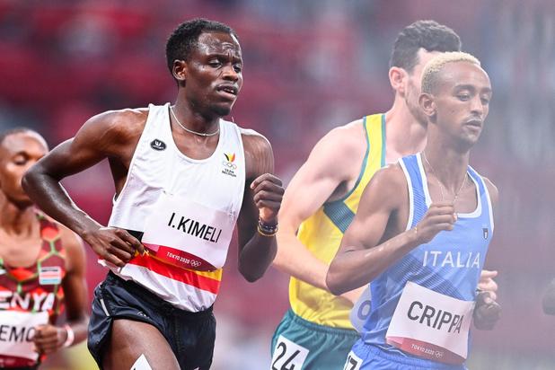 Isaac Kimeli et Robin Hendrix ne disputeront pas la finale du 5000 mètres