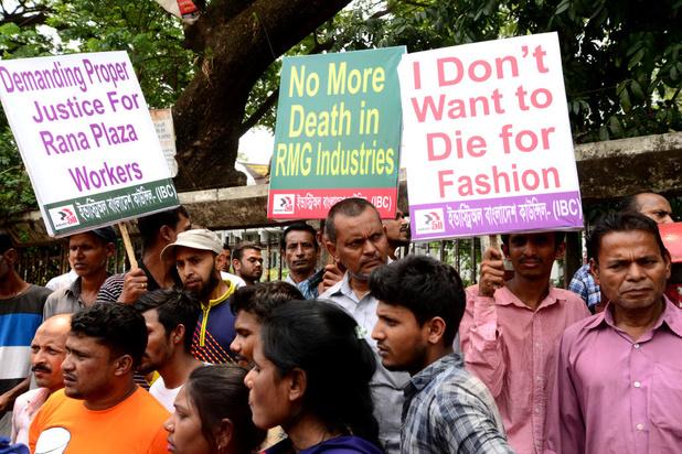 Acht jaar na Rana Plaza nog steeds geen animo voor bindende veiligheidsregels in kledingfabrieken
