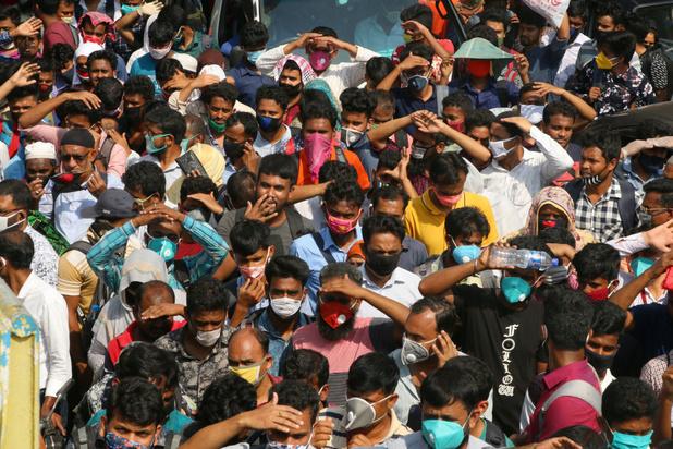 Al drie miljard verlies in Bengaalse kledingindustrie door coronacrisis