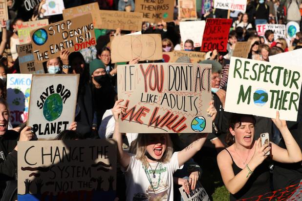 'Wanneer meisjes praten over klimaatverandering moeten we luisteren'