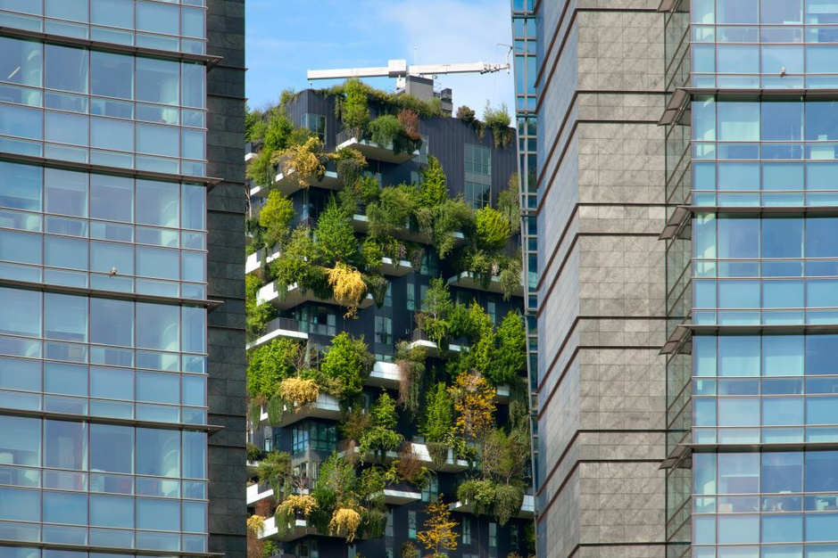 Wonen in de stadsbomen: moderne groene architectuur in beeld