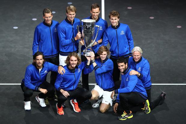 Quatrième Laver Cup en autant d'éditions pour l'Europe