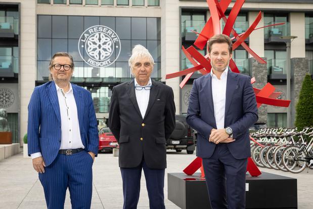 Marc Coucke et Bart Versluys acquièrent un hôtel à Knokke