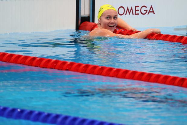 L'or et le record olympique pour l'Australienne Ariarne Titmus sur le 200 m nage libre