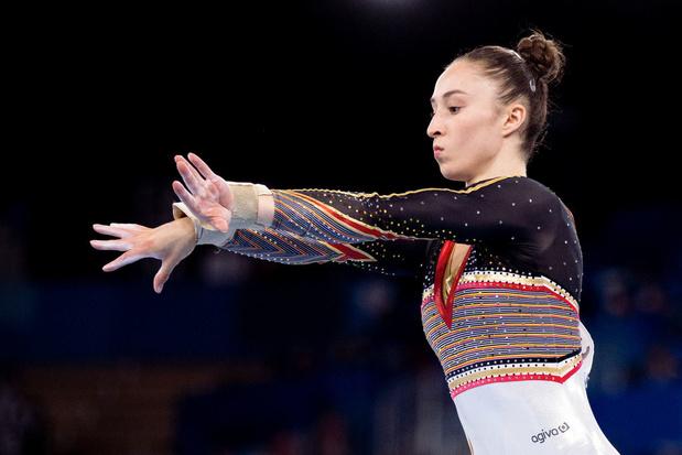 Nina Derwael, sixième du concours général, Sunisa Lee succède à Simone Biles
