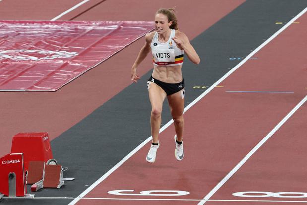 """Noor Vidts devant Nafi Thiam """"déçue de son 200 m"""" après le premier jour de l'heptathlon: """"je me suis surprise"""""""
