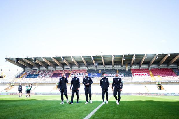Le nouveau stade de Bruges accueillera uniquement des matchs de football