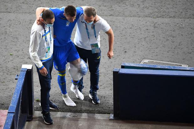 Artem Besedin, victime d'une énorme faute de Danielson, ne jouera plus de l'Euro 2021