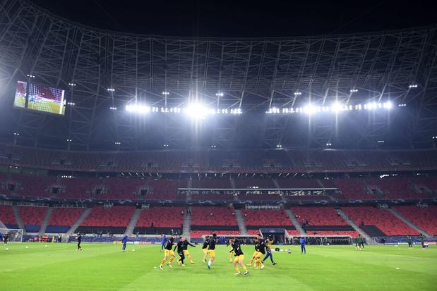 Ligue des champions: Atletico-Chelsea déplacé à Budapest