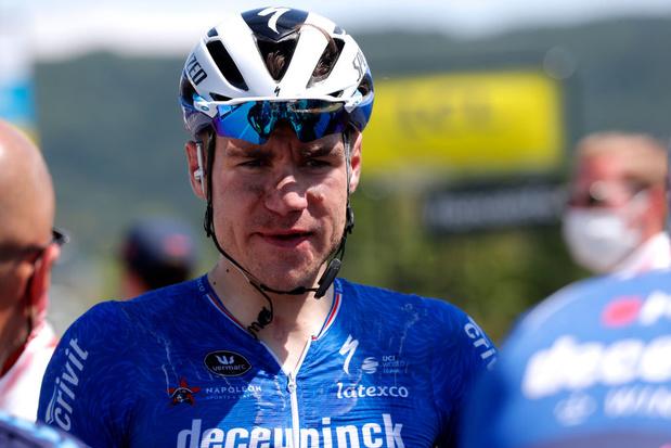 """Le """"miraculé"""" Jakobsen prolonge chez Deceuninck-Quick.Step"""