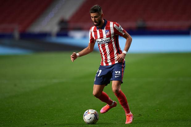 Carrasco de retour à l'entraînement avec l'Atletico Madrid