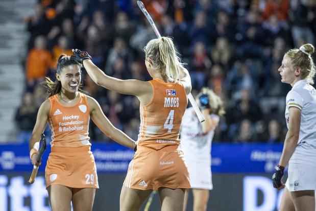 Hockey Pro League: Les Red Panthers battues 2-0 par les Pays-Bas