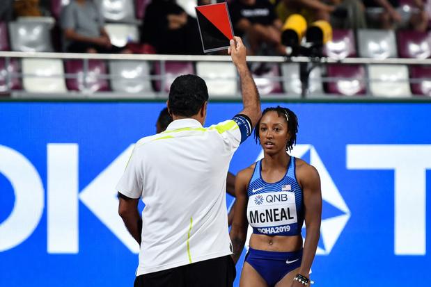Dopage: la championne olympique du 100 m haies suspendue 5 ans