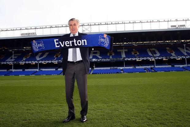 Ancelotti vise l'Europe avec Everton