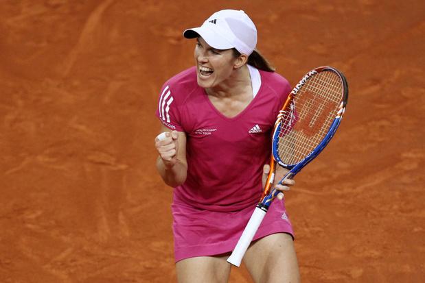 Justine Henin, 9e meilleure joueuse de tous les temps