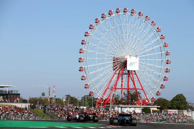 Le Grand Prix du Japon annulé !