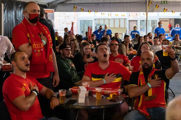 Retour en images sur le premier tour de l'Euro 2020 des supporters belges