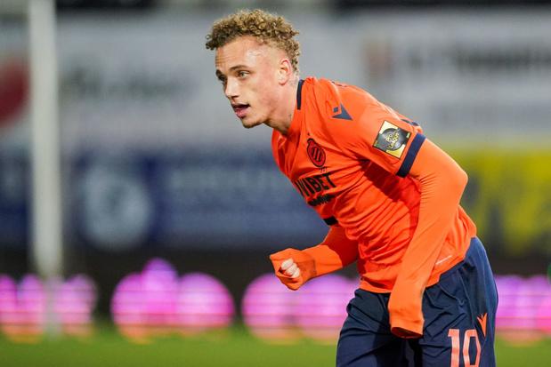 Noa Lang avec les U21 des Pays-Bas