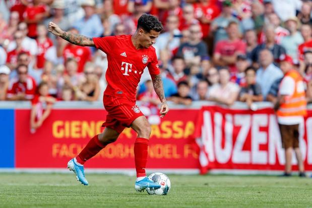 Le Bayern en ordre de bataille avec Coutinho
