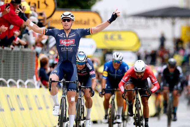 Doublé belge au Tour: Merlier devance Philipsen, Roglic et Pogacar perdent du temps !