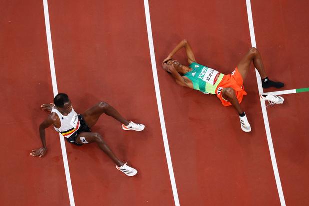 """Kimeli a """"appris beaucoup"""" de son échec sur 10.000 m pour espérer rebondir sur le 5000"""