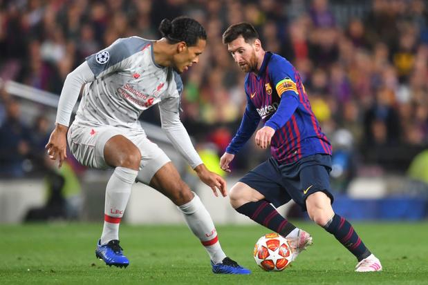Meilleur joueur UEFA: Van Dijk face à Messi et Ronaldo