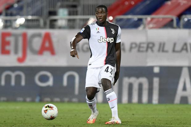 Daouda Peeters, premier belge de l'histoire à porter le maillot de la Juventus