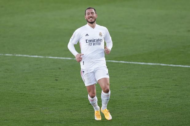 Eden Hazard ne s'est pas entraîné avec le Real