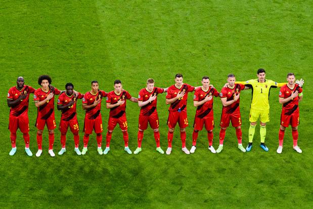 Les Diables rouges toujours en tête du classement mondial malgré leur quart à l'Euro