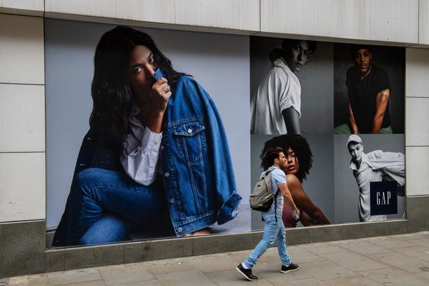 Modeketen Gap sluit alle winkels in Verenigd Koninkrijk en Ierland
