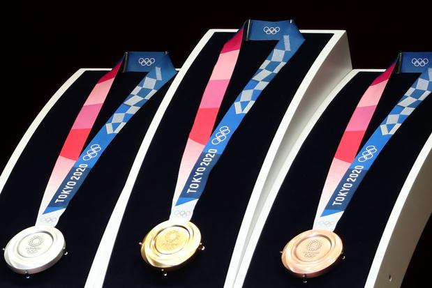 Tokyo 2021: Les athlètes devront se passer eux-mêmes leur médaille autour du cou