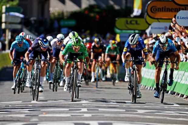 Tour de France: Mark Cavendish signe sa 4e victoire sur le Tour et égale Eddy Merckx