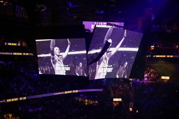 NBA: une nouvelle nuit marquée par les hommages à Kobe Bryant