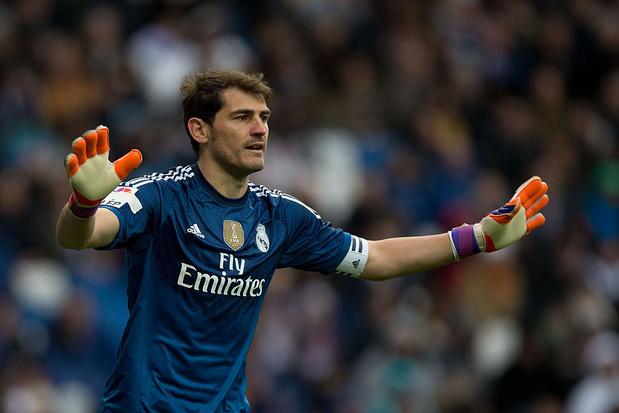 Iker Casillas de retour au Real Madrid