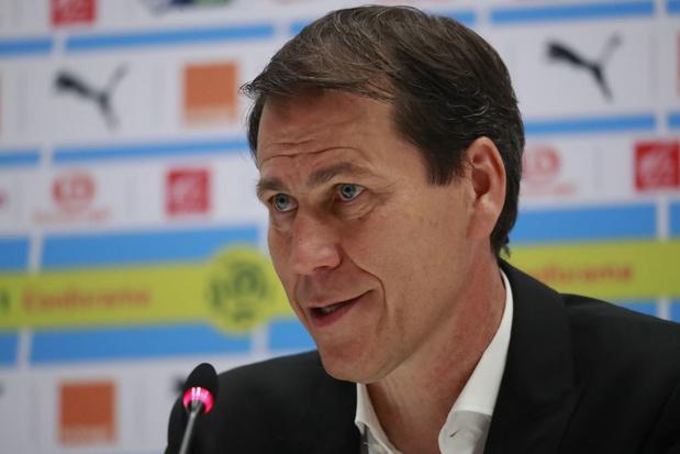 Rudi Garcia, nouvel entraîneur de l'OL