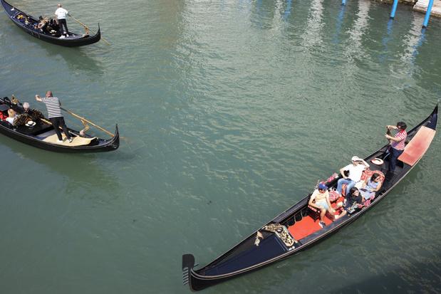 Venetiaanse gondeliers willen minder 'zware toeristen' aan boord