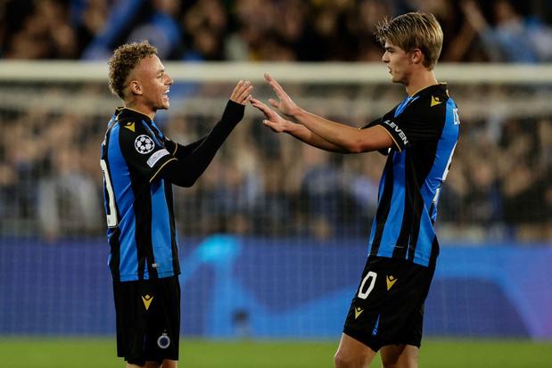 Le FC Bruges prolonge Noa Lang et Charles De Ketelaere