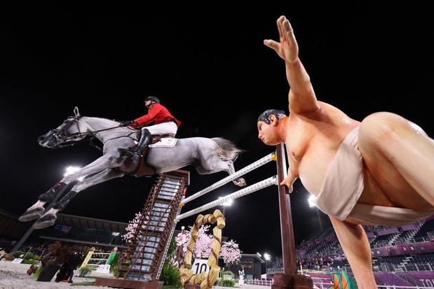Pas de médailles pour les cavaliers belges dans le saut d'obstacles