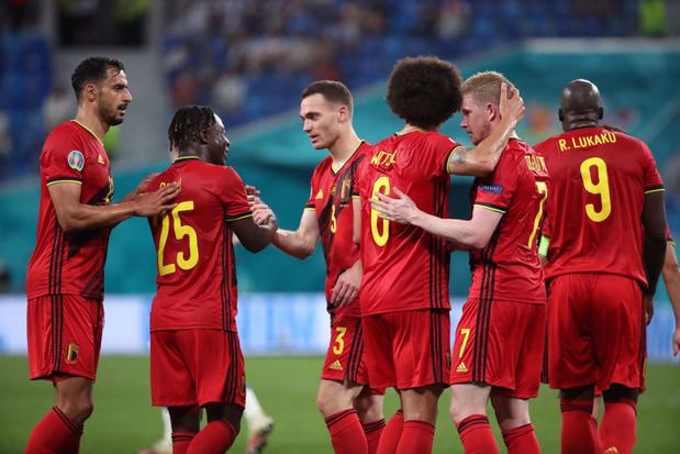 Les chances belges de remporter l'EURO 2021 diminuent