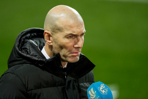 Real Madrid: Zidane testé positif au Covid