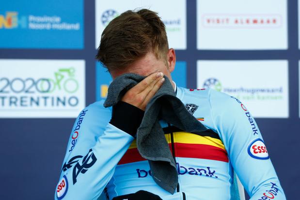 Très ému, Remco Evenepoel dédie sa victoire à Bjorg Lambrecht