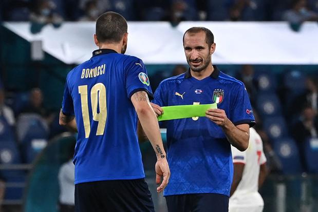 EURO 2021: Chiellini, un record et une blessure qui inquiète qui l'Italie