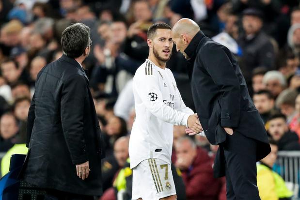 Eden Hazard de retour dès ce week-end contre l'Atlético? Zidane répond
