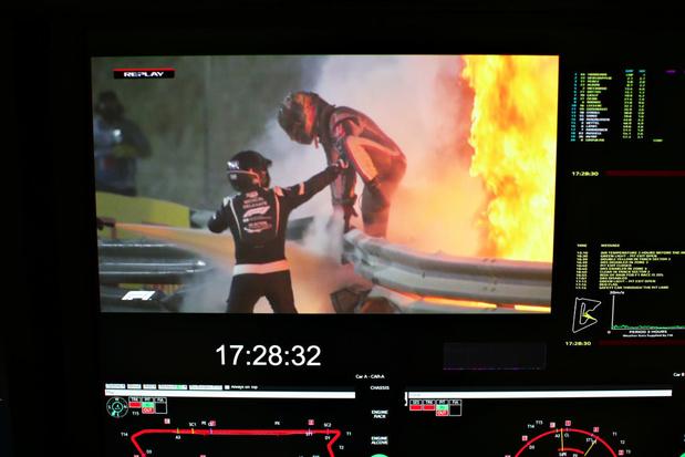 Comment Romain Grosjean a-t-il survécu à son effroyable crash?