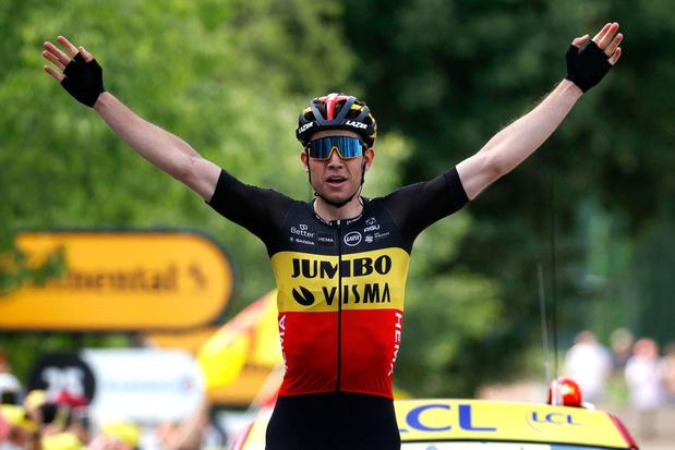 Tour de France: Wout Van Aert s'impose après un magnifique solo dans le Mont Ventoux
