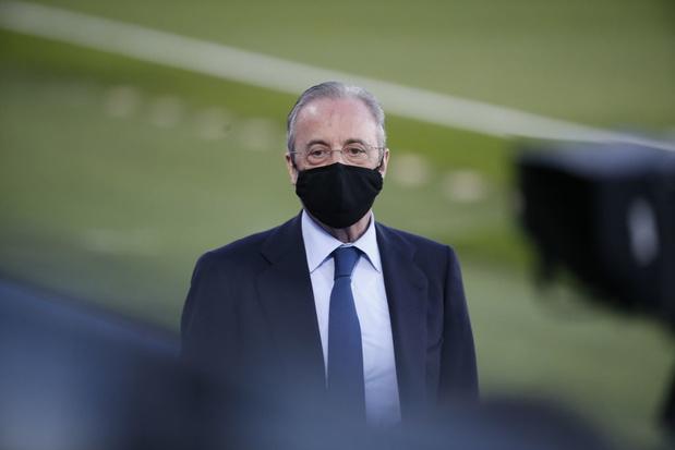 """""""La Super League va sauver le football"""", affirme le président du Real"""