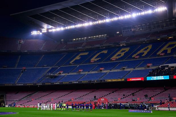 """Plusieurs """"arrestations"""" après les perquisitions au FC Barcelone"""