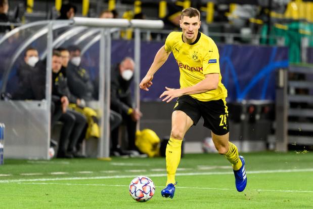 Thomas Meunier met en garde Dortmund avant ses retrouvailles avec Bruges