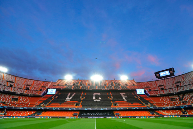 """Coronavirus: """"Peut-être aucun supporter dans les stades en Espagne avant 2021"""""""